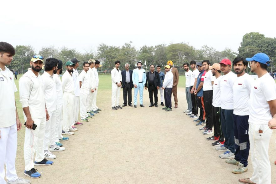 Game of Cricket set the ball rolling at AEG's Annual Inter-College Sports Festival ATHLEEMA-Season 7