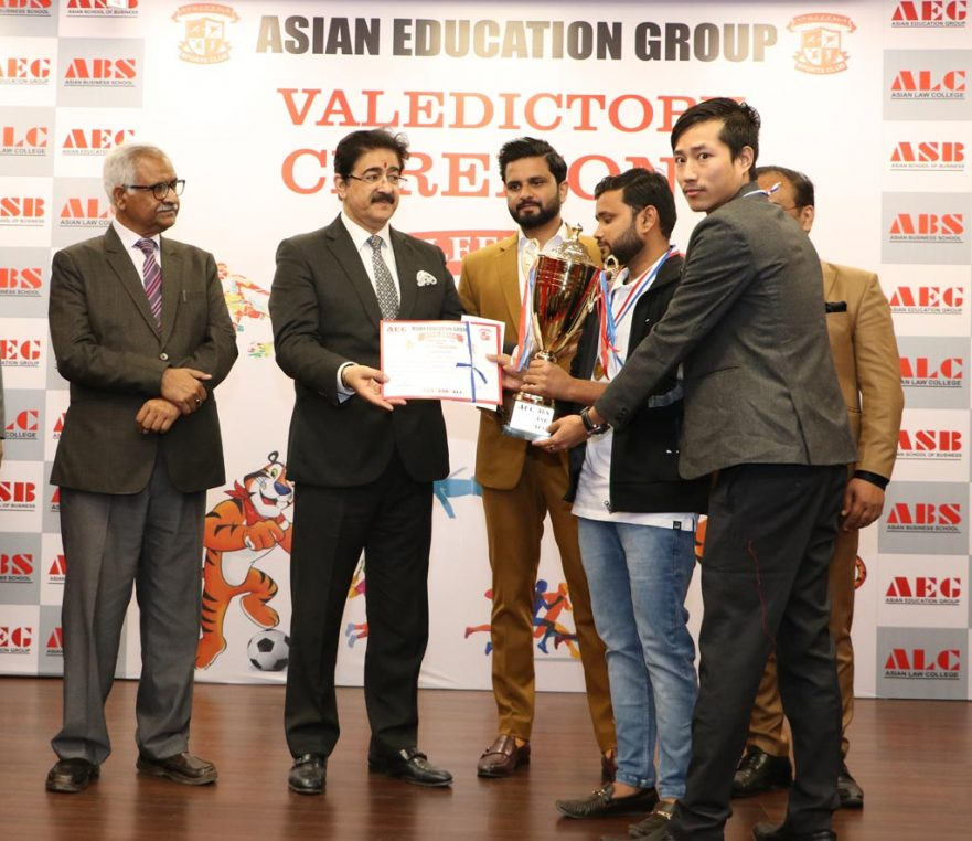 Standard of badminton tournament at AEG's annual inter-college sports festival, ATHLEEMA 2019 was extraordinary