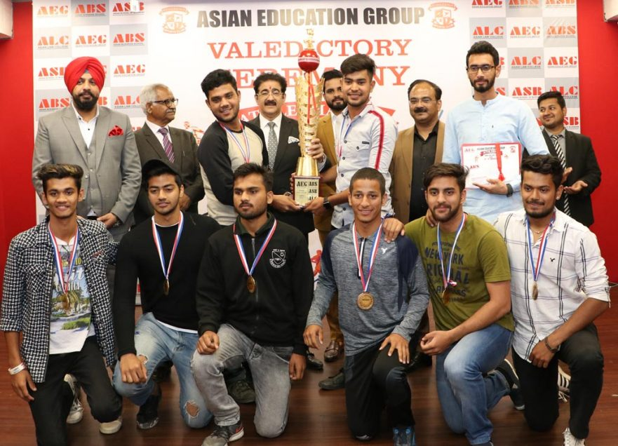 Grand valedictory function draws curtain on Asian Education Group's 7th annual sports extravaganza, ATHLEEMA 2019!
