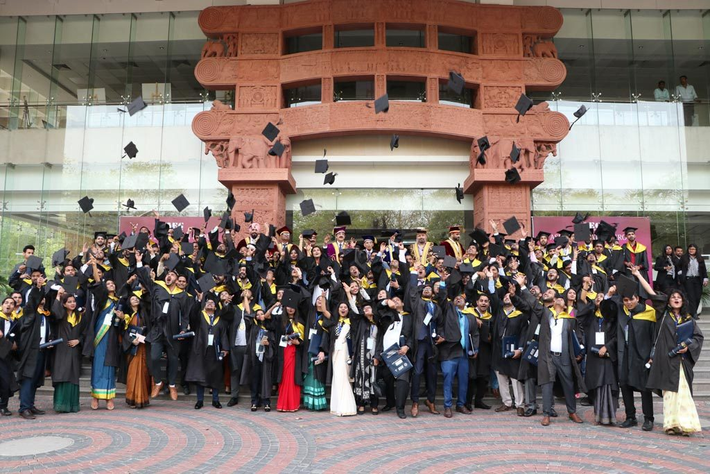 Asian Education Group organizes joint Annual Convocation Ceremonies for its constituent group colleges, ABS & ASB