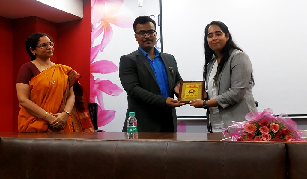 Ms. Ashima Mandla Delivered Distinguished Guest Lecture at AEG's Asian Law College
