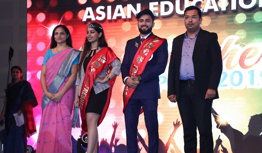 Fresher's Party 2019 at Asian Business School (AEG) – Crowning of Mr. and Ms. Fresher 2019