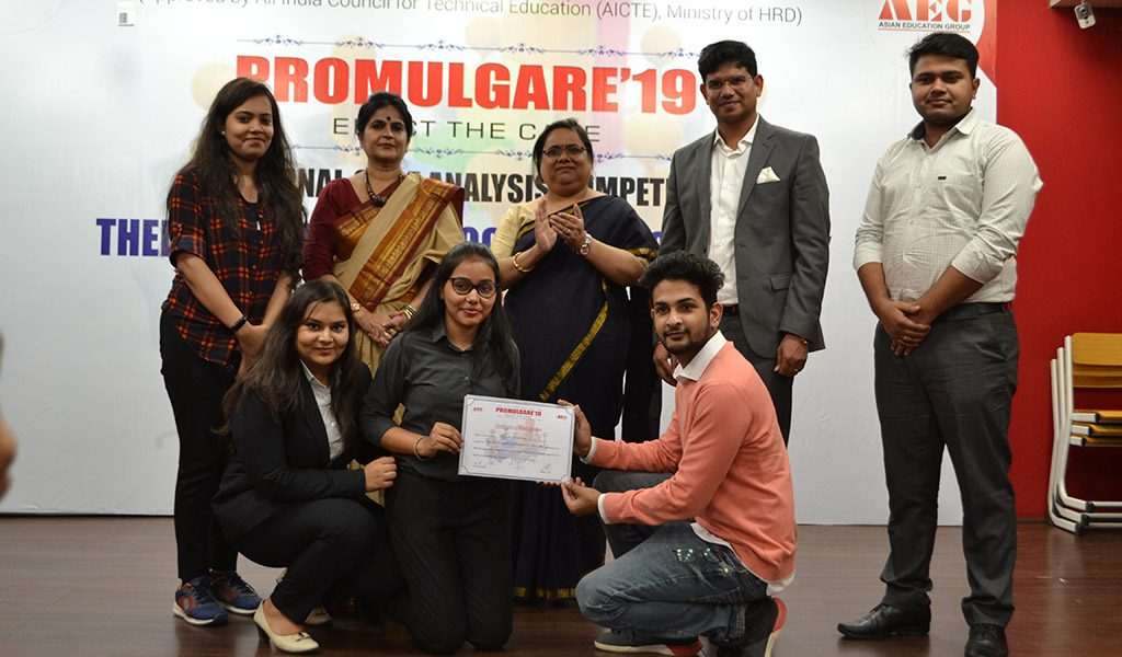 ABS holds a National Case Analysis Competition, PROMULGARE 2019