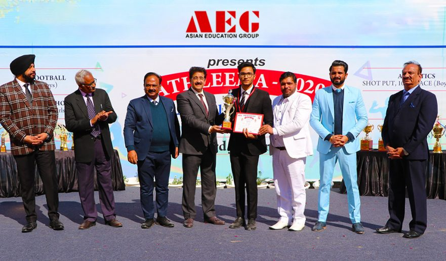 ATHLEEMA-2020--100-Metre-Race-at-AEG-Noida