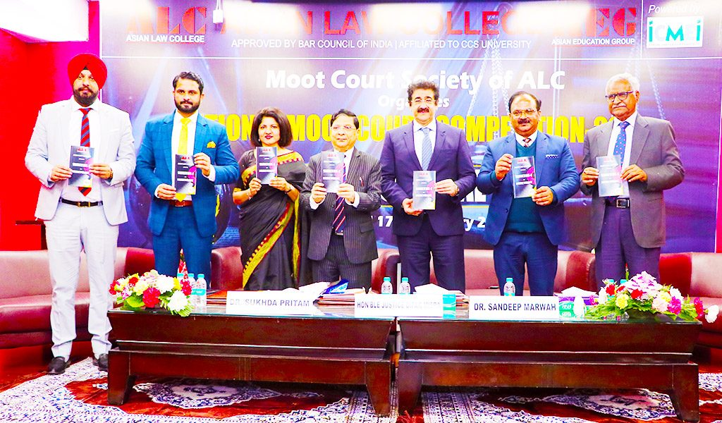 "ALC Organizes its Maiden ""National Moot Court Competition"" with Great Splendor & Success!"
